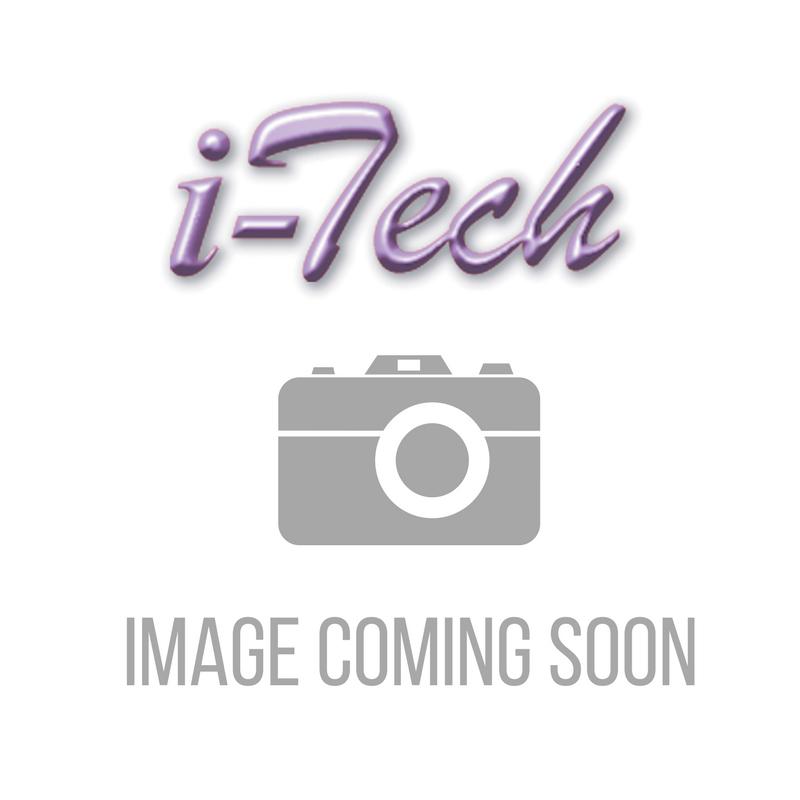 Edimax 1m Black 10GbE Shielded CAT7 Network Cable - Flat EA3-010SFA