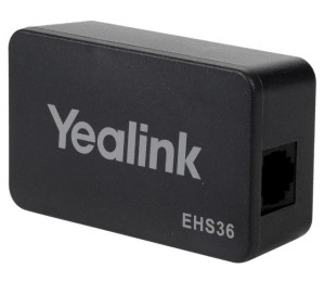 Yealink (EHS36) IP Phone Wireless Headset Adapter (Electronic Hook Switch) EHS36