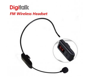 Digitalk Fm Wireless Headset For F-37b Eledigwifm