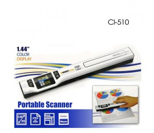 Digitalk Portable Handheld A4 1050dpi Photo & Document Scanner (ci-510) Eledighs510scan