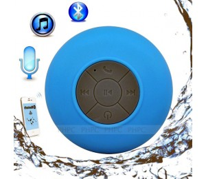 Mini Waterproof Wireless Bluetooth Speaker (blue) Elevmxwaterpfbu