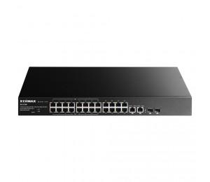 Edimax Pro (ES-5216P) Edimax 16-Port 10/ 100M PoE+ WebSmart Switch + 2 Giga SFP Combo (240W) ES-5216P