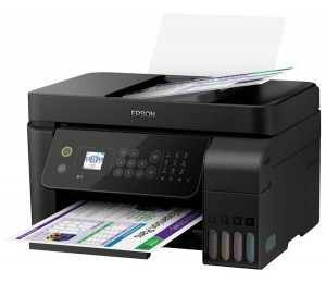 "Epson Eco Tank Mfp - 10Ppm Iso(B) 5Ppm© 5760X1440Dpi 1.44"" Lcd Usb Ethernet+Wlan Wifi Direct"