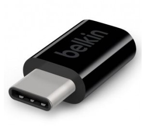 Belkin Usb-C To Micro B Adapter,Black F2Cu058Btblk