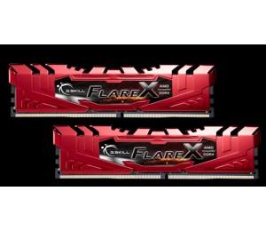 G.Skill DUAL CHANNEL: FlareX Series 32GB (2 x 16GB) 288-Pin DDR4 SDRAM DDR4 2133 (PC4-17000) For
