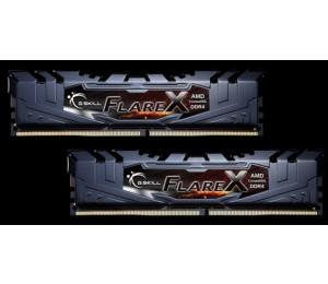 G.skill 16GB (8GBx2) DDR4-2400 (PC4-19200) CL16-16-16-39 1.2 Volt[Flare X for AMD] F4-2400C16D-16GFX