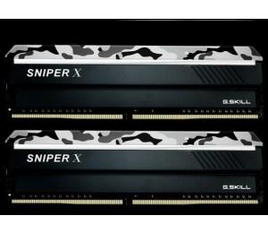 G.Skill Sniperx 32G Kit (2X16G) Pc4-19200 Ddr4 2400Mhz 17-17-17-39 1.2V Dimm F4-2400C17D-32Gsxw