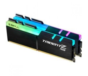 G.SKILL 16GB(8GB X 2) PC4-24000/DDR4 3000MHZ 1.35V UNBUFFERED NON-ECC TRIDENT Z SERIES RBG