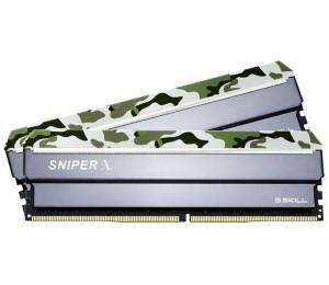 G.skill Sniper X F4-3000c16d-32gsxfb 32gb (2 X 16gb) Ddr4 3000mhz Cl16 1.35v Desktop Memory F4-3000c16d-32gsxfb
