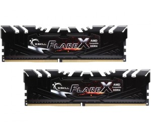 G.Skill Dual Channel : 16GB (2x8GB) Flare X For for AMD Ryzen F4-3200C14D-16GFX 3200MHz DDR4 F4-3200C14D-16GFX