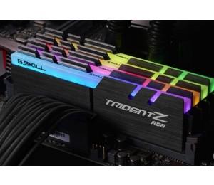 G.skill Pc4-25600 / Ddr4 3200 Mhz 32gb 4 X 8gb 14-14-14-34 1.35v Trident Z Rgb F4-3200c14q-32gtzr