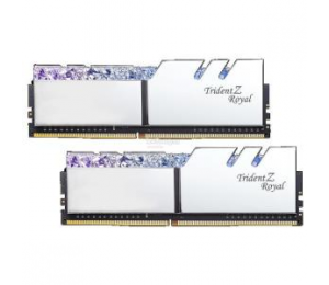 G.Skill Tz Royal 16G Kit (2X 8G) Ddr4 3200Mhz Pc4-25600 16-18-18-18 1.35V Dimm Silver Colour F4-3200C16D-16Gtrs