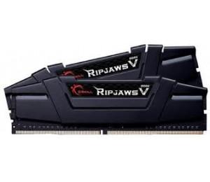 G.Skill DUAL CHANNEL: 16GB (2x8GB) DDR4 3200MHz [RipjawsV] Classic Black F4-3200C16D-16GVKB