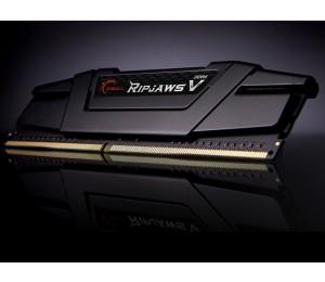 G.Skill DUAL CHANNEL :32GB (2x16GB) DDR4 3200MHz [RipjawsV] 1.35V 16-18-18-38 Black F4-3200C16D-32GVK