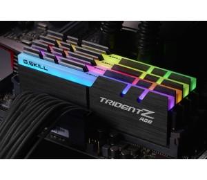 G.skill Pc4-28800 / Ddr4 3600 Mhz 32gb 4 X 8gb 17-18-18-38 1.35v Trident Z Rgb F4-3600c17q-32gtzr