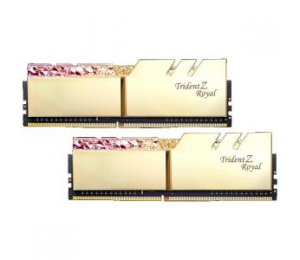 G.Skill Tz Royal 16G Kit (2X 8G) Ddr4 3600Mhz Pc4-28800 18-22-22-24 1.35V Dimm Gold Colour F4-3600C18D-16Gtrg
