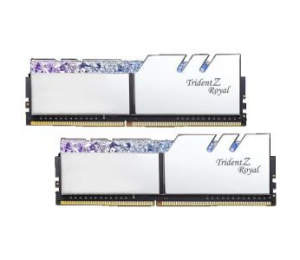 G.Skill Tz Royal 16G Kit (2X 8G) Ddr4 3600Mhz Pc4-28800 18-22-22-24 1.35V Dimm Silver Colour F4-3600C18D-16Gtrs