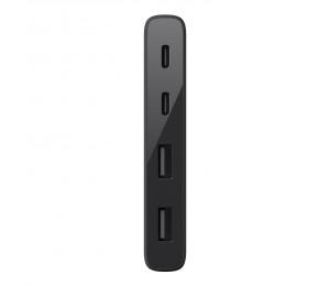 Belkin 3.0 USB-C 4 PORT TRAVEL HUB (NON-POWERED) F4U090BTBLK