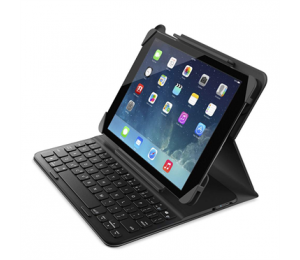 Belkin Qode Slim Style Keyboard Case W/ H Bonus Screen Protector For Ipad2018/ 2017/ Air/ Air2