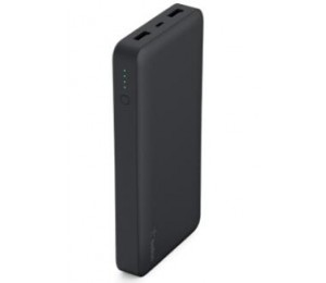 Belkin Pocket Power Bank 15 000mah Usb (2) Mirco Usb (1) Black 2yr Wty F7u021btblk