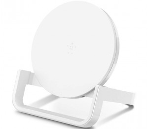 Belkin Boost Up Wireless Charging Stand 10W, Wireless Charging Engineered for Qi F7U052AUWHT