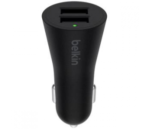Belkin Boost#up Car Charger Universal 24w Black F8j221bt04-blk F8m930btblk