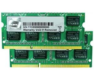 G.skill 16g Kit (8gx2) Ddr3 1600mhz 1.50v So-dimm For Mac Fa-1600c11d-16gsq