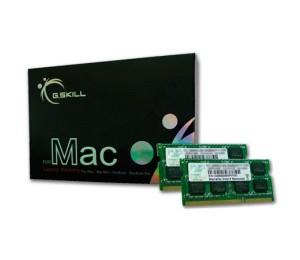 G.skill 8g Kit (4gx2) Ddr3 1066mhz 1.50v So-dimm For Mac Fa-8500cl7d-8gbsq