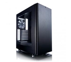 Fractal Design Mid Tower: Define C Black 2x 120mm Fan 2x Usb 3.0 Atx Fd-ca-def-c-bk