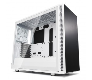 Fractal Design Define S2 White Glass Clear Fd-ca-def-s2-wt-tgc