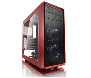 Fractal Design Focus G Red Window, for ATX, mATX, ITX MB (FD-CA-FOCUS-RD-W) FD-CA-FOCUS-RD-W