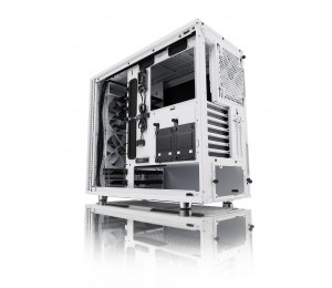 "Fractal Design Mid Tower: Define R6 White No Psu 2X Usb 3.0 + 2X Usb 2.0 6X 3.5""/ 2.5"" 3X Gp-14"