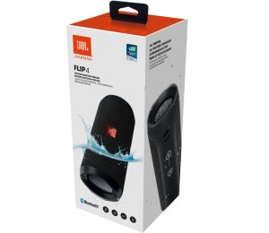 JBL Flip 4 Bluetooth Portable Stereo Speaker, IPX7 Waterproof Rating, Siri & Google Now, Up to 12 Hours Play Time