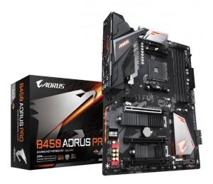 Gigabyte B450 Aorus Pro Mb Am4 4xddr4 6xsata 2xm.2 Usb-c Atx 3yr Ga-b450-aorus-pro
