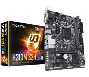 Gigabyte Matx Motherboard: H310 Socket 1151 For Intel 8Th Gen. Processors 2X Ddr4 4X Sata 6Gb/