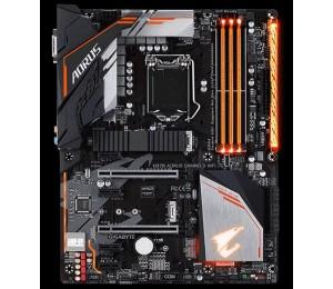 Gigabyte Aorus H370 Chipset 4xddr4 1x Dvd-d 4x Usb2.0 3 X Usb3.1 1xrj-45 6xaj Support 8th Gen Cpu
