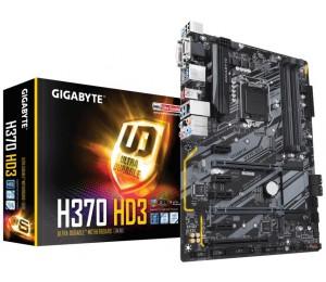 Gigabyte H370 Chipset 4 X Ddr4 Dimm 1x D-sub 1x Dvi-d 1x Hdmi 6x Usb3.1 2x Usb2.0 1x Rj-45 6x Aj