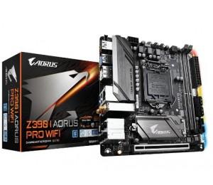 Gigabyte Z390 I Aorus Pro Wifi Mb 1151 2xddr4 4xsata 2xm.2 Usb-c Mini-itx 3yr Ga-z390-i-aorus-pro-wifi