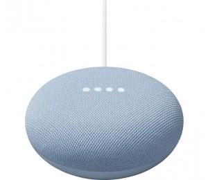 Google Nest Mini Voice Assistant Speaker Sky Blue GA01140-AU