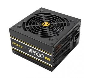 Antec Vp550P Plus 500W Psu. 80+ @ 85% Efficiency Ac120-240V Continuous Power 120Mm Silent Fan.