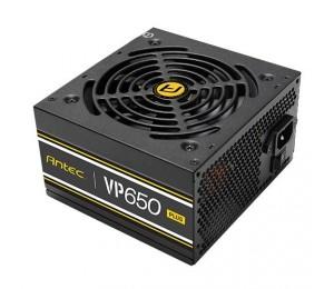 Antec Vp650P Plus 500W Psu. 80+ @ 85% Efficiency Ac120-240V Continuous Power 120Mm Silent Fan.