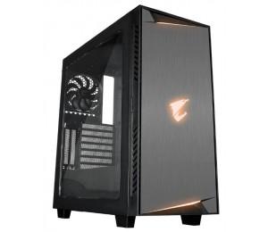 Gigabyte Ac300W Lite Atx Mid Tower Pc Case Rgb Lights Clear Window Gb-Ac300W-Lite-Ms