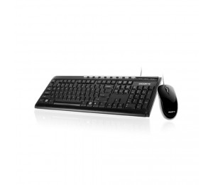 Gigabyte Km6150 Black Usb Wired Keyboard & Mouse Combo 3yr Wty Gk-km6150