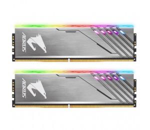 Gigabyte Aorus Rgb Memory 16gb Kit (2x 8gb) Ddr4 3200mhz 1.35v Rgb Fusion Gp-ar32c16s8k2su416r
