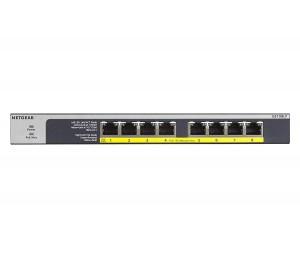 Netgear 8-Port Poe/ Poe+ Gigabit Ethernet Unmanaged Switch GS108LP-100AJS