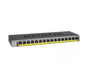 Netgear 16-port Poe/poe+ Gigabit Ethernet Unmanaged Switch With 183w Poe Budget Rack-mount Or Wall-mount