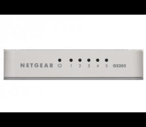 Netgear Switch: 5-Port Gigabit Unmanaged Switch Gs205