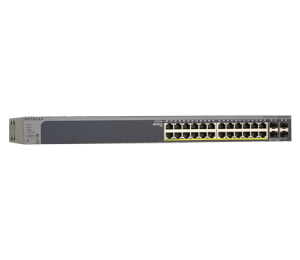 Netgear 24-port 380w Gigabit Poe+ Ethernet Smart Managed Pro Switch With 4 Sfp Ports (gs728tppv2)