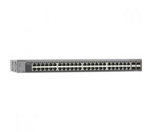 Netgear Prosafe S3300-52x-poe+ (48-port Poe+ Gigabit Stackable Smart Switch 4x10g Ports) Gs752txp-100ajs