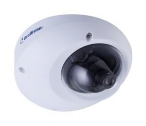 Geovision GV-MFD2501 2m Super Low Lux WDR Mini Fixed IP Dome, 2.8mm, F/2.0 GV-MFD2501-0F
